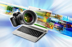 Photography &Media Technology Royalty Free Stock Image