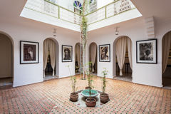 Photography Museum, Marrakesh. MARRAKECH, MOROCCO - FEBRUARY 22, 2016: The Photography Museum of Marrakesh is located in the Medina, the oldest part of the Royalty Free Stock Photos