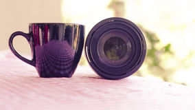 Photography is my cup of tea Royalty Free Stock Photo