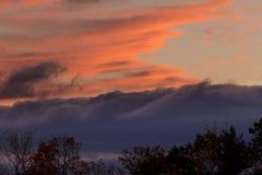 Photography of Nimbus Clouds during Sunset Stock Photos
