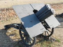 Old howitzer Stock Image