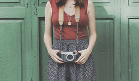 Photography Photographer Photograph Camera Concept Stock Photo