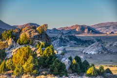 Photography of Rocky Mountains stock photo