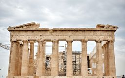 Photography Of The Ruins Royalty Free Stock Image