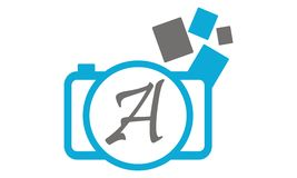 Photography Service Initial A Royalty Free Stock Images