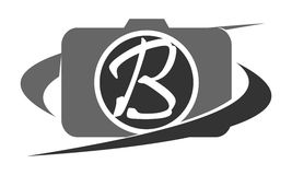 Photography Service Letter B Royalty Free Stock Photography