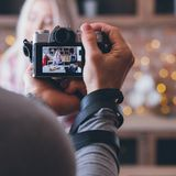 Photography social media food blogging business stock photography