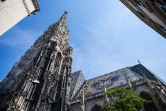 St. Stephans cathedral, Vienna, Austria Stock Photos