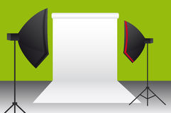 Photography studio Royalty Free Stock Images
