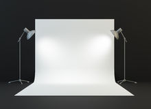 A photography studio Royalty Free Stock Photography