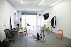Photography studio. Royalty Free Stock Image