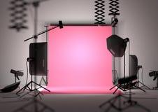 Photography Studio Background Stock Image