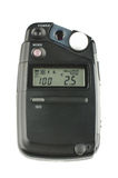 Photography studio exposure meter isolated on the white background Royalty Free Stock Image