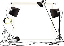 Photography studio Stock Photography