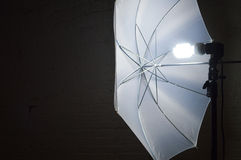Photography Umbrella Light. Royalty Free Stock Images