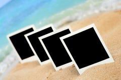 Photographys sulla spiaggia Immagini Stock Libere da Diritti