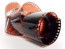 Photograpic de filmstrook i van de kleur Stock Foto's