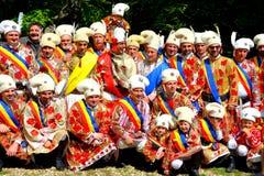 Photogroup during Brasov Juni parade Royalty Free Stock Image