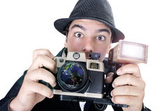Photojournalist Royalty Free Stock Images