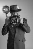 photojournalistvertical Fotografering för Bildbyråer
