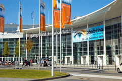 Photokina 2008 entrance Royalty Free Stock Images