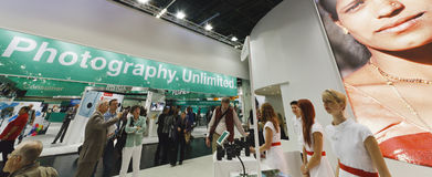 PHOTOKINA, COLOGNE - SEPT.23.2012 Royalty Free Stock Image