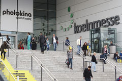 PHOTOKINA, COLOGNE - SEPT.23.2012 Image stock