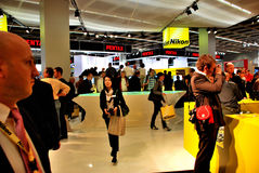 Photokina exhibition Stock Images
