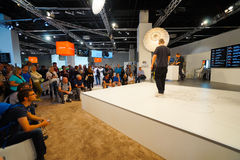 Photokina Exhibition interior Stock Images
