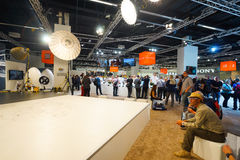 Photokina Exhibition interior Stock Photography