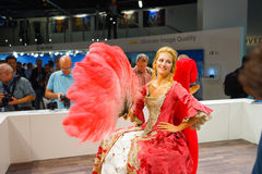 Photokina Exhibition interior Stock Image