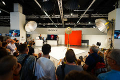 Photokina Exhibition interior Stock Photos