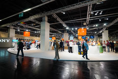 Photokina Exhibition interior Royalty Free Stock Photo