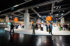 Photokina Exhibition interior Royalty Free Stock Photo