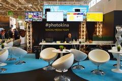 Photokina Exhibition interior Stock Photos