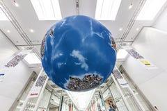 Photokina - mundo de la proyección de imagen, globo Foto de archivo
