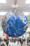 Photokina - mundo de la proyección de imagen, globo Imagen de archivo libre de regalías