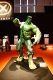 Photokina. SEPTEMBER 2008 - COLOGNE: a Hulk superhero figure at the Photokina photo fait in Cologne, germany stock photography