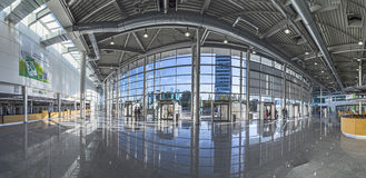 The Photokina 2016 takes place in the Koelnmesse building in Col Royalty Free Stock Photo