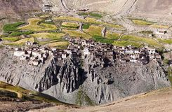 Photoksar village - Zanskar trek - Ladakh - India Royalty Free Stock Photos