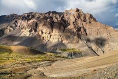 Photoksar village - Zanskar trek - Ladakh - India Royalty Free Stock Photo