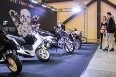 Photomodels от мотоциклов Стоковое Изображение