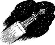Photon spaceship Stock Photo