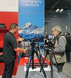 The 2017 PhotoPlus Expo. Is an annual event for Professional and amateur photographers` held at The Javits convention Center in NY Royalty Free Stock Photo