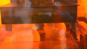 photopolymer da impressão da impressora 3d vídeos de arquivo