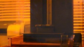 Photopolymer da impressora da cópia 3D vídeos de arquivo
