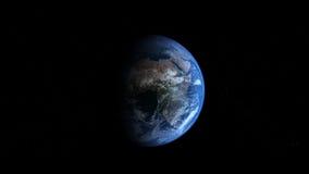 Photoreal Erde - Afrika vektor abbildung
