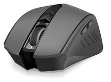 Photorealistic computer mouse Stock Photo