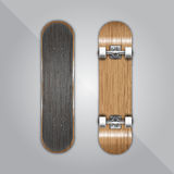 Photorealistic skateboard template. Available in high-resolution and several sizes to fit the needs of your project Royalty Free Stock Photos