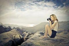 Photoreporter Stock Image
